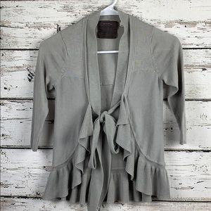 {ANTHRO GUINEVERE} Cardigan Size XS